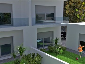 Semi-detached house T3 / Sesimbra, Boa Água I