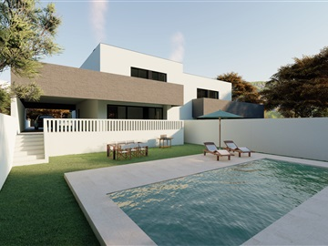 Semi-detached house T4 / Braga, Vimieiro